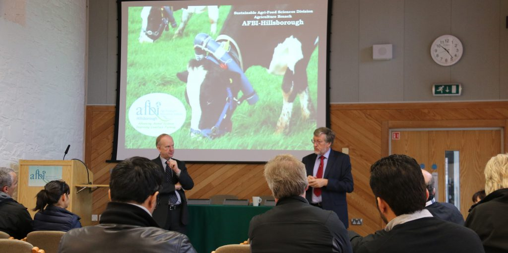 Breeding discussed by World Dairy Summit delegrates at AFBI