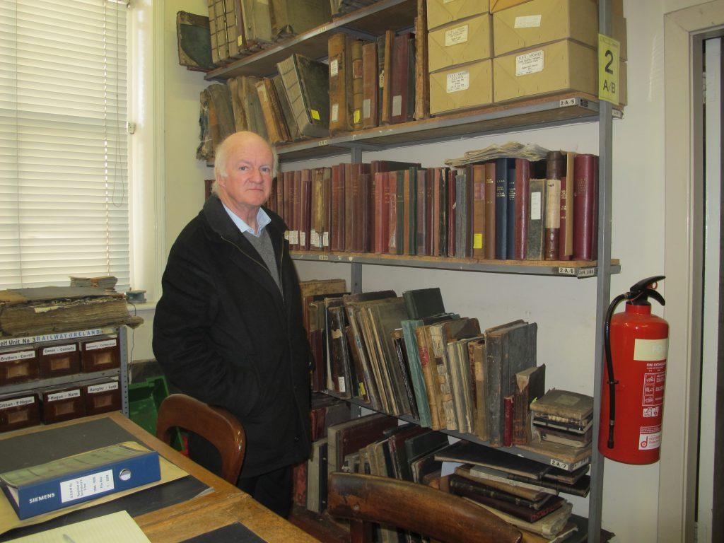 Oliver Doyle, rail historian