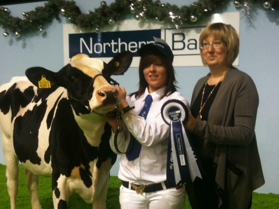 Co. Down farmer Heather Martin has won this year's Holstein Australia exchange