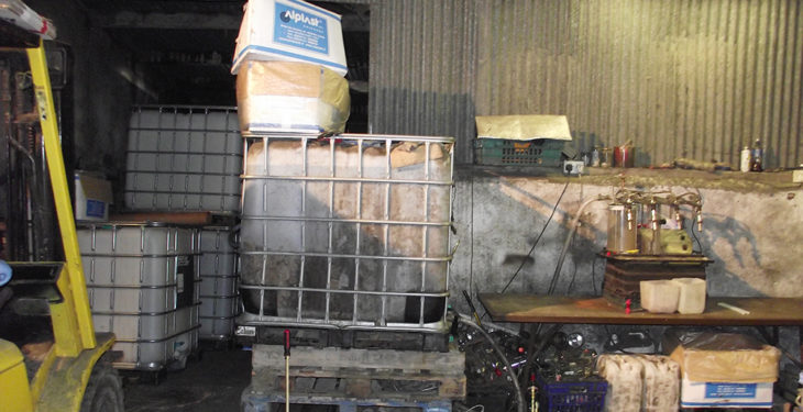 Pics: Alcohol worth nearly €500,000 seized by Revenue in farm building raid