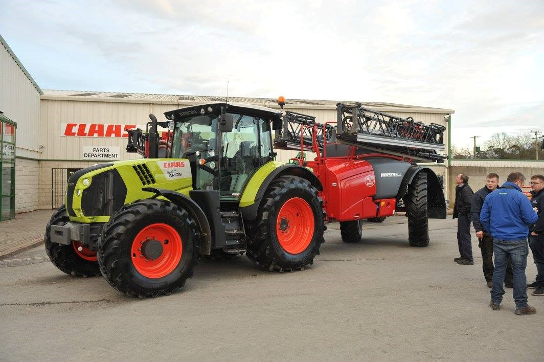 Sprayers and drills front and centre in Borris – on 'Black Tuesday'