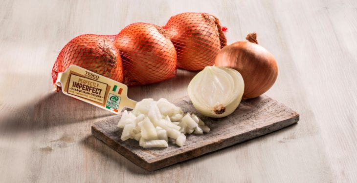 Tesco saves 300t of 'perfectly good' onions from going to waste