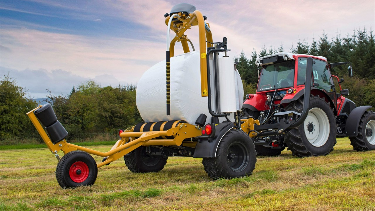 Latest wrapper can still do 5 bales in 3 minutes, but now it's 'easier'