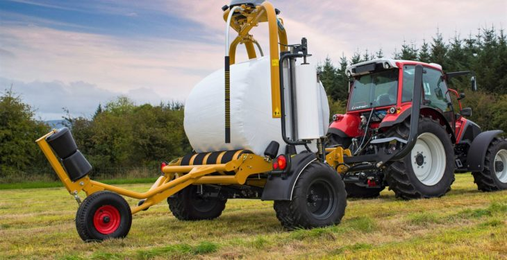 Latest wrapper can still do 5 bales in three minutes, but now it's 'easier'
