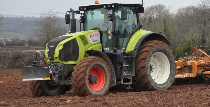 Irish dealer gets major award from Claas…but which one?