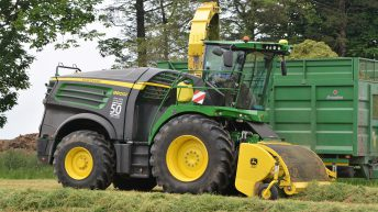 Less spillage and smarter sensing: Deere's latest foragers get the gadgets