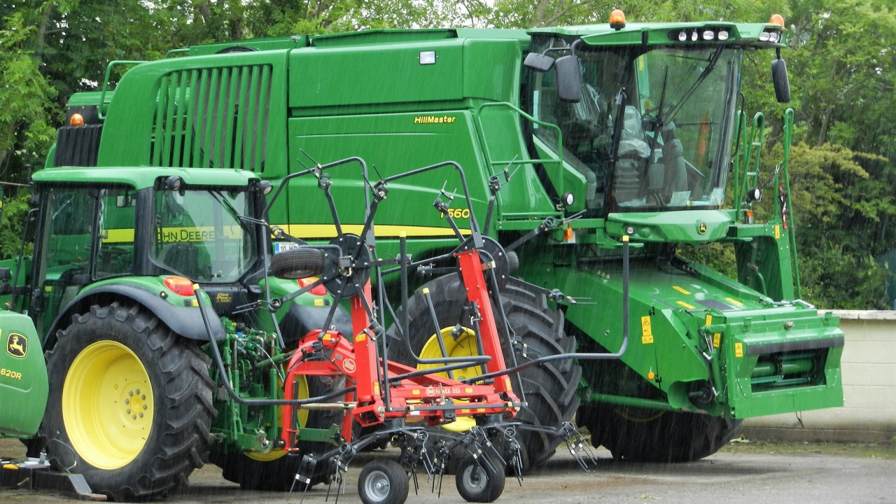 Curious about a machinery dealership's income: What pays the bills?