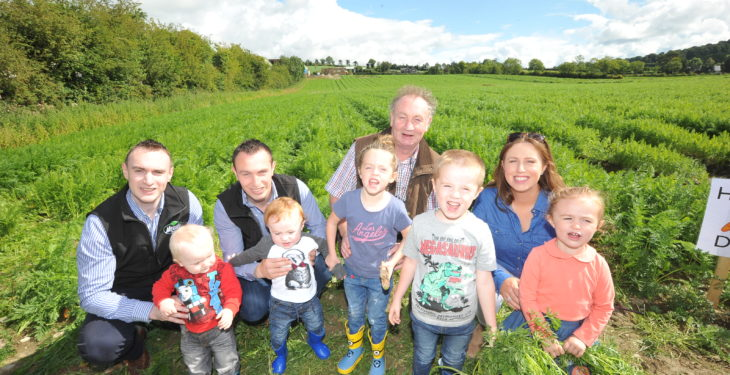 Meade family taste success at agribusiness awards