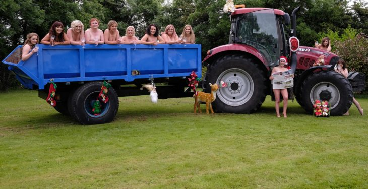 Pics: 'Tractor Girls' bare all in calendar for brave Billy