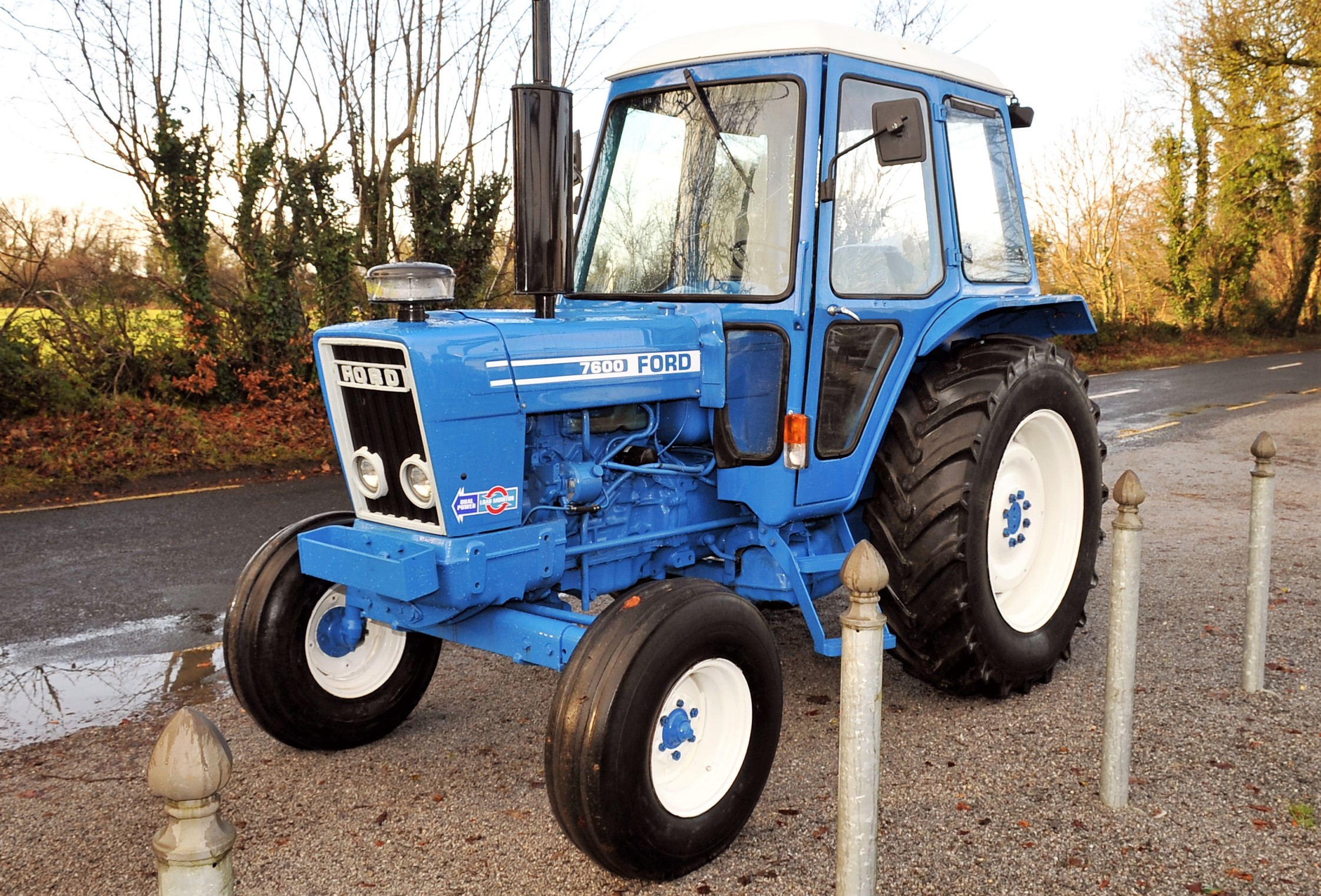 Ford Q Cab Ebay Tractor 3600 Wiring Harness Classic Corner A True Blue All Decked Out With Comfy