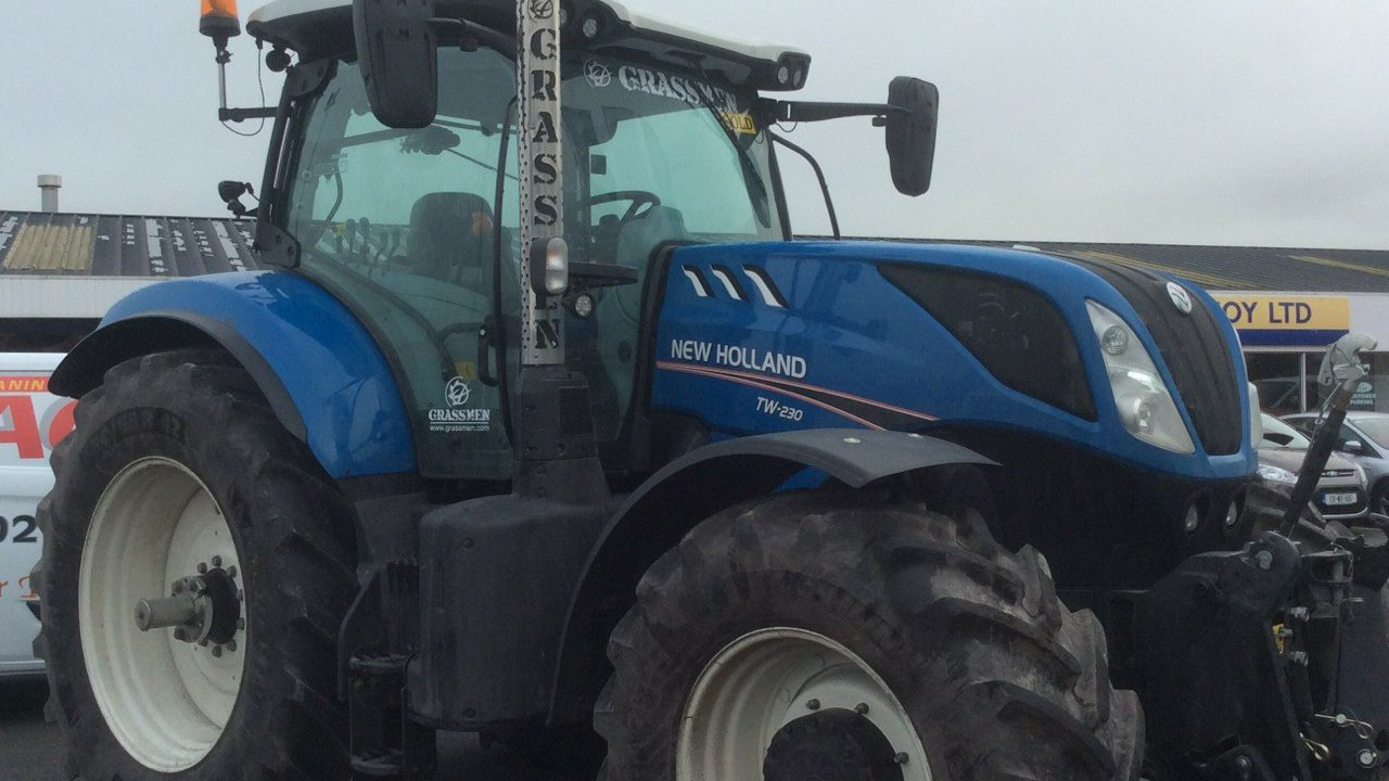 Tractor run fundraisers for Waterford baby in need of liver transplant