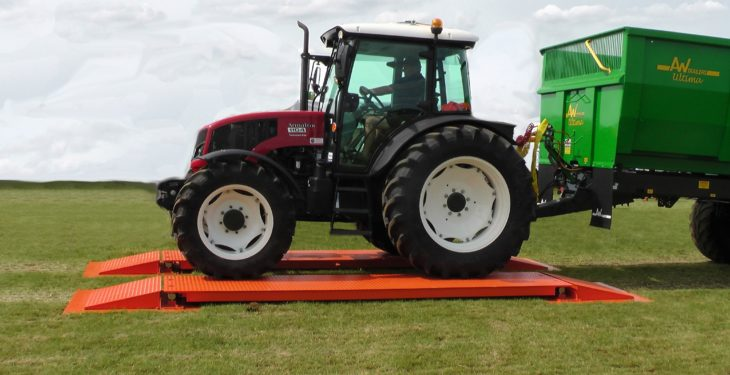 Just weigh and go: Your own on-farm weighbridge for €8,000