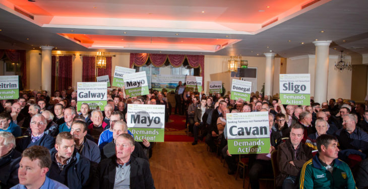 INHFA fodder crisis rally 'largest turnout to any farmers' meeting this year'