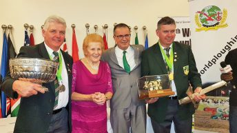 Masters in their field: Irish ploughing men win big on world stage