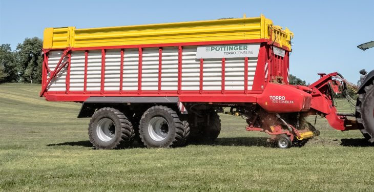 Bigger, contractor-spec Torro wagons from Pottinger are 'fully-loaded'