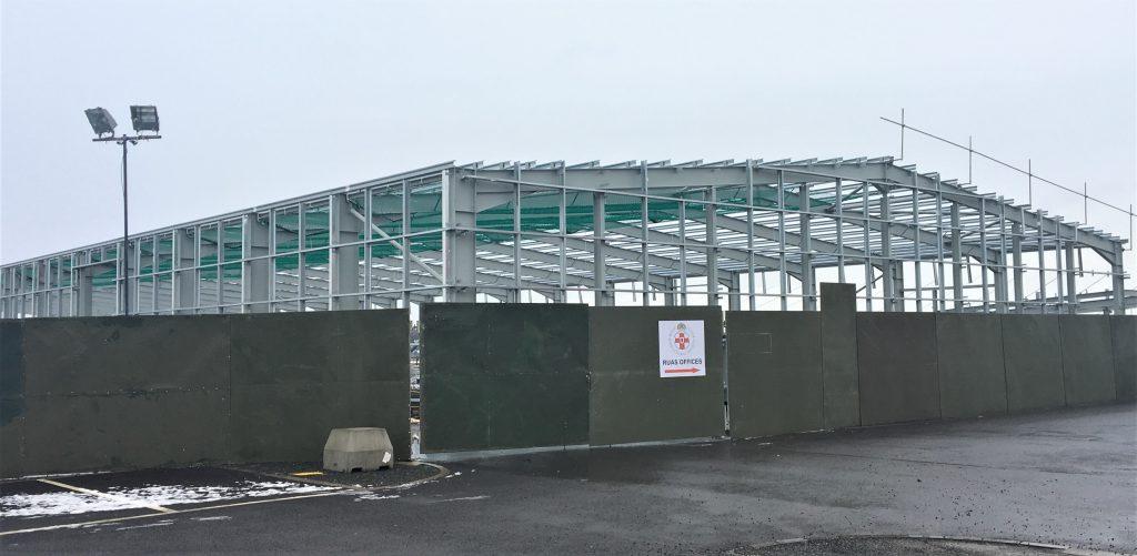 New building at Balmoral Park