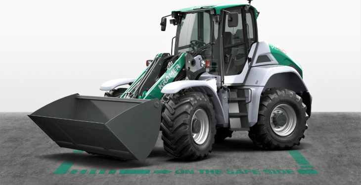 A non-articulated loader: Kramer wheels out its biggest shovel yet