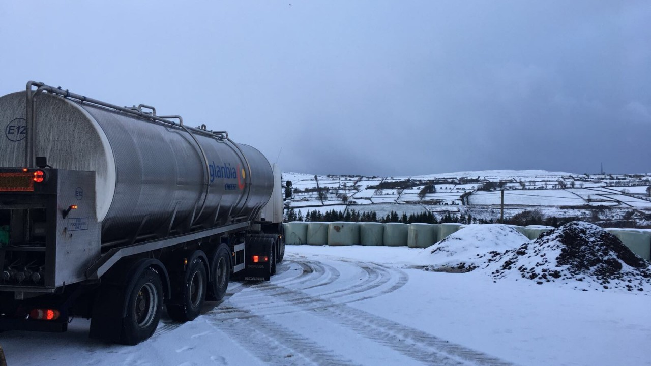 'Christmas' for liquid milk sales but collections face disruptions
