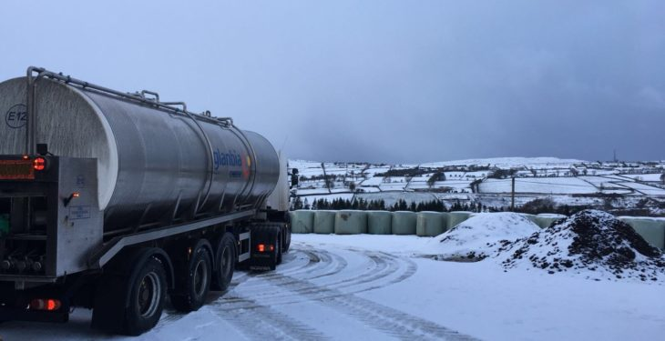 Major processor to pay 20c/L for milk lost during big freeze