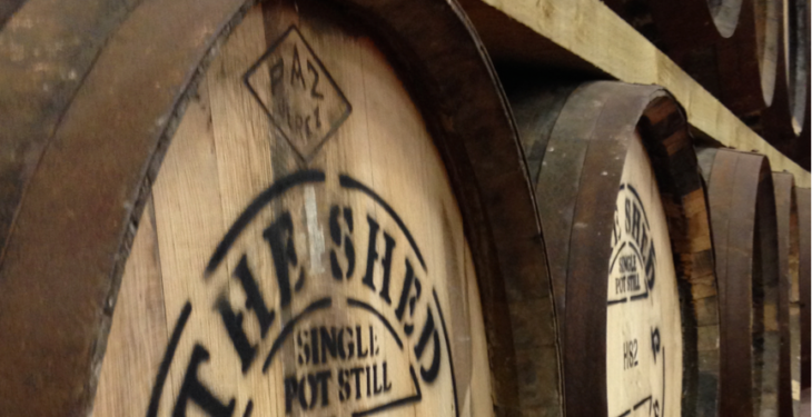 Connacht's first whiskey in 104 years launched at the 'Shed'