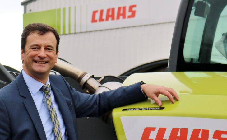 Edenderry man on his way to the top of the 'Claas'