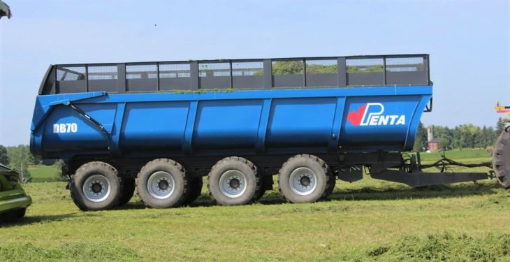 Fancy a 4-axle, all-purpose (dump/silage) trailer?
