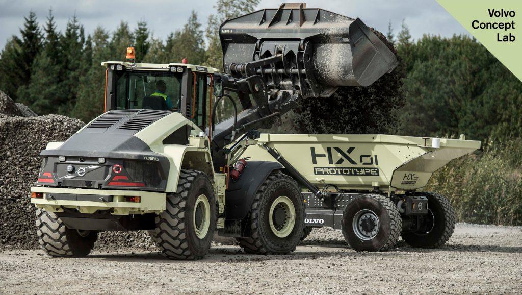 Volvo CE HX1
