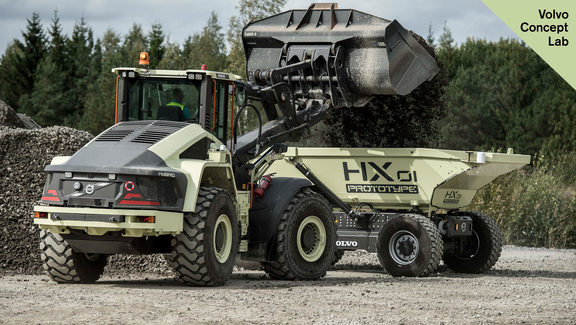 Could this 'driverless' dumper have a role in farming