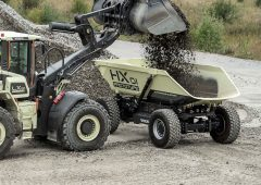 Could this 'driverless' dumper have a role in farming?