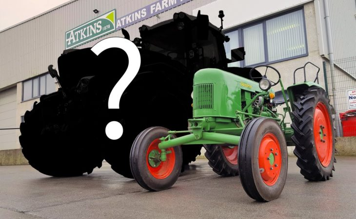 Is this the most powerful 'conventional' tractor in Ireland?