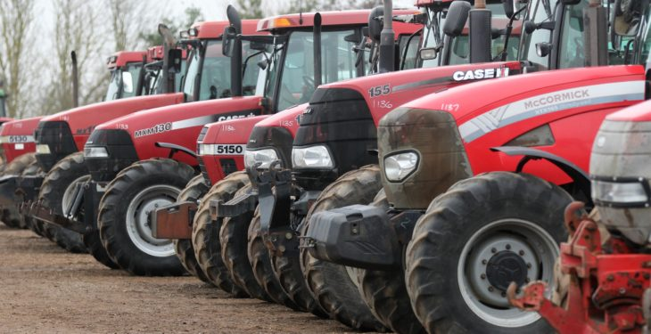 Auction report: 'Red' highlights from January's Cambridge tractor sale