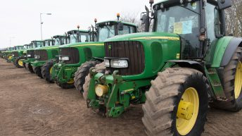 Auction report: 'Green' highlights from January's Cambridge tractor sale