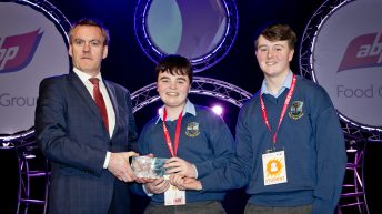 Wicklow students' trailer gate project takes farm safety prize