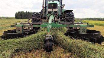Here's the ultimate 'one-pass' system – for baled silage contractors