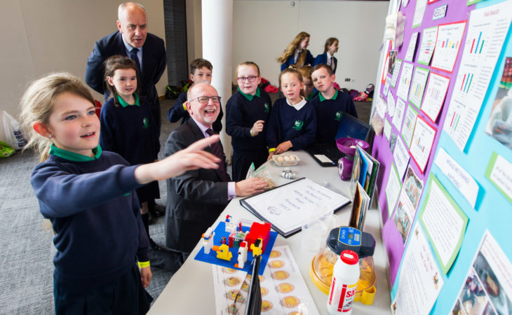 Primary science fair calls for NI country schools and farm kids