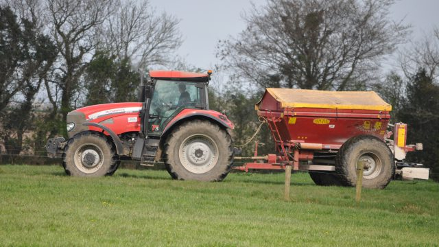 The benefits of spreading protected urea this spring