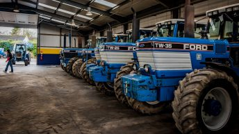 Irish Ford tractor owners stay busy…raising funds for charity