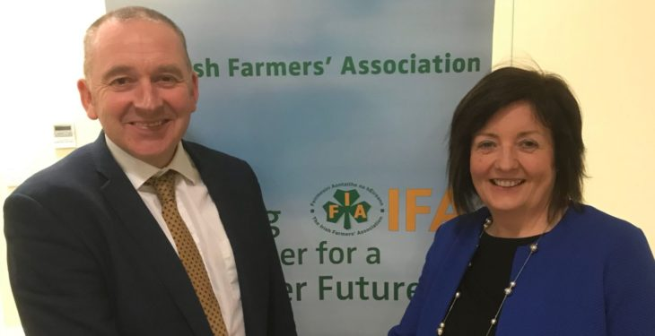 Third woman elected to IFA county chair position