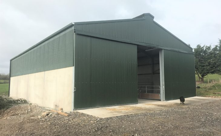 Buildings focus: A calf shed with a simple design in Co. Tipperary