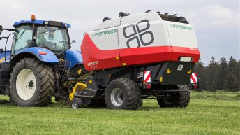 First Pottinger round baler lands in Ireland