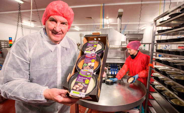 £700,000 cooked vegetable processing site opens in Co. Down