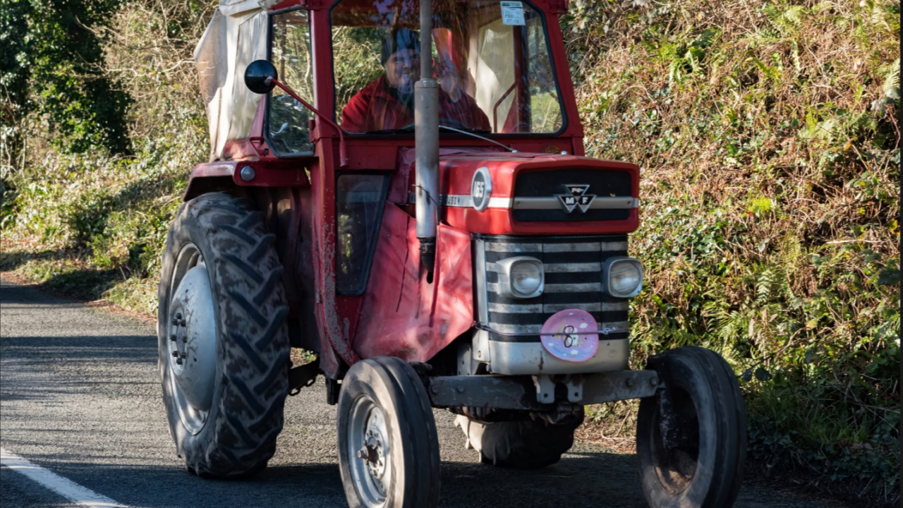 Farmer finds himself in court using tractor 'for social purposes'