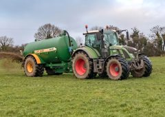 Slurry buffer zones at double width for first 2 weeks