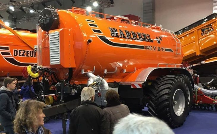 Eye-catching tanker knows how to push its 'weight' about