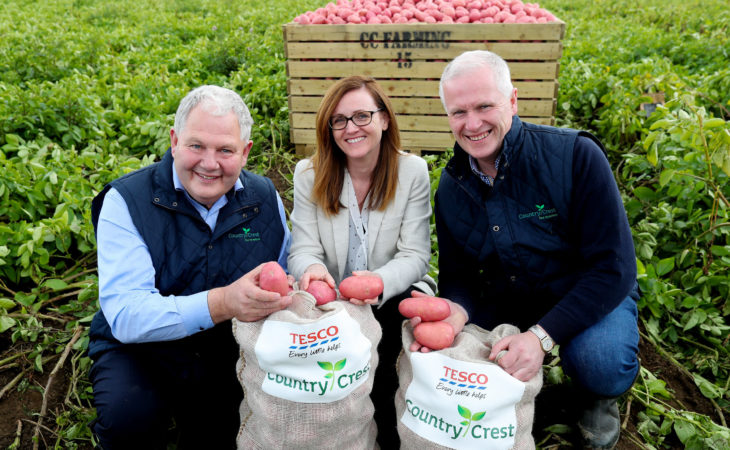 158 million potatoes in Tesco contract