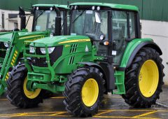 28% of all new tractors sold in the UK are John Deeres