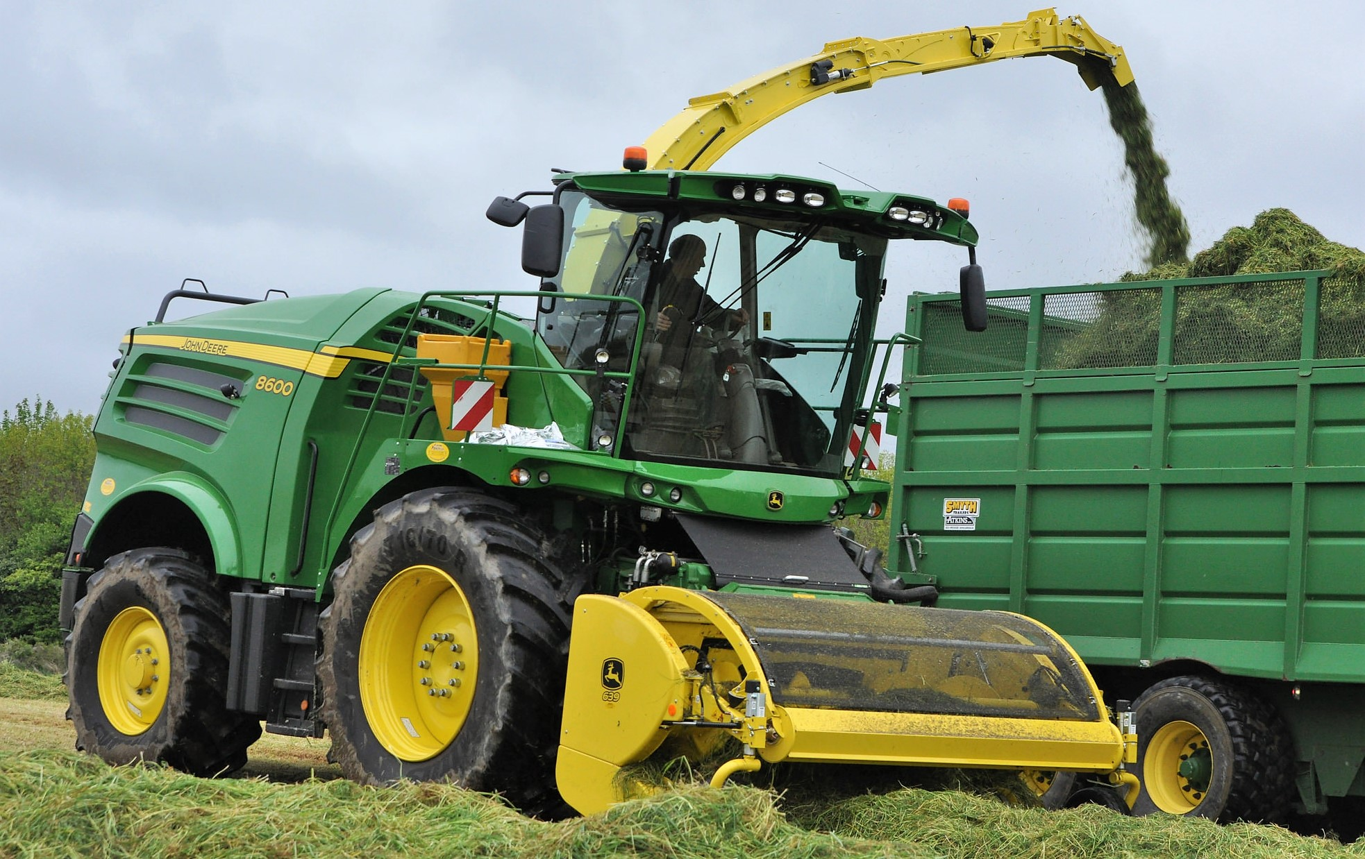 Nostalgia Where Did John Deere Self Propelled Foragers Come From Combine Box Fuse Image Source Shane Casey
