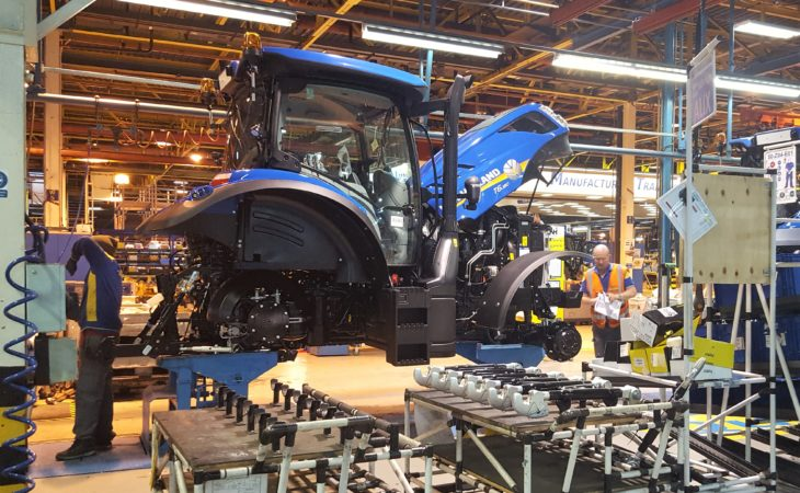 Pics: Behind the scenes at New Holland's UK tractor factory