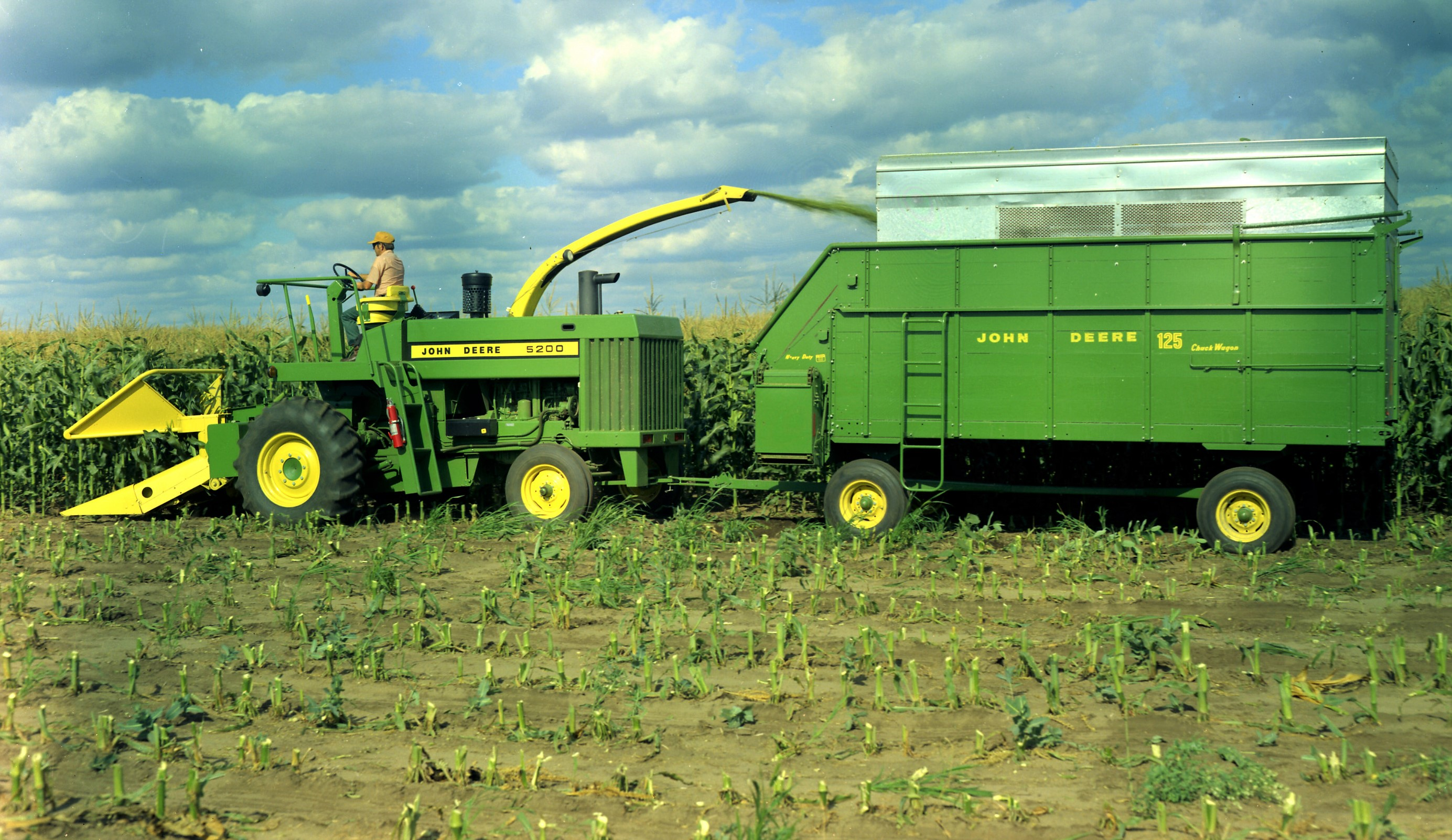 Nostalgia Where Did John Deere Self Propelled Foragers Come From Combine Box Fuse Image Source
