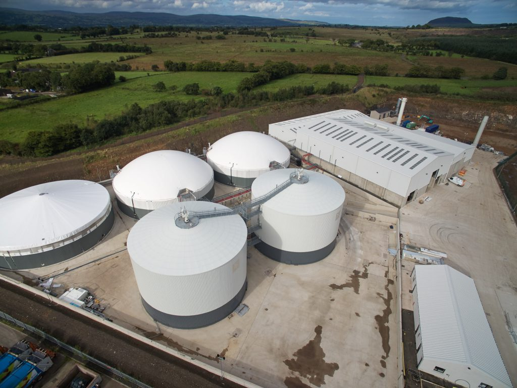 Biosteam Tully AD plant, Ballymena, anaerobic digestion